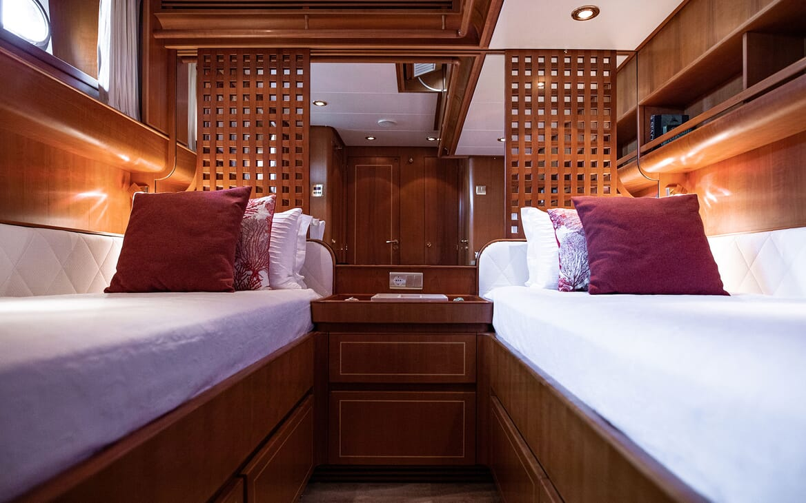 Sailing Yacht SCARENA Twin Guest Stateroom