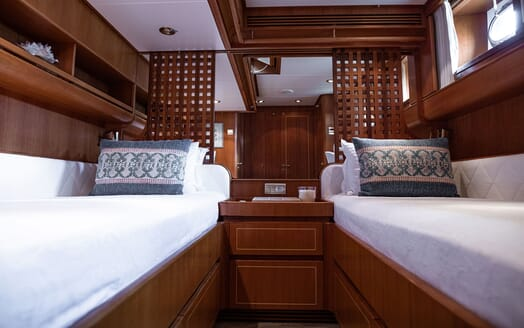 Sailing Yacht SCARENA Second Twin Stateroom