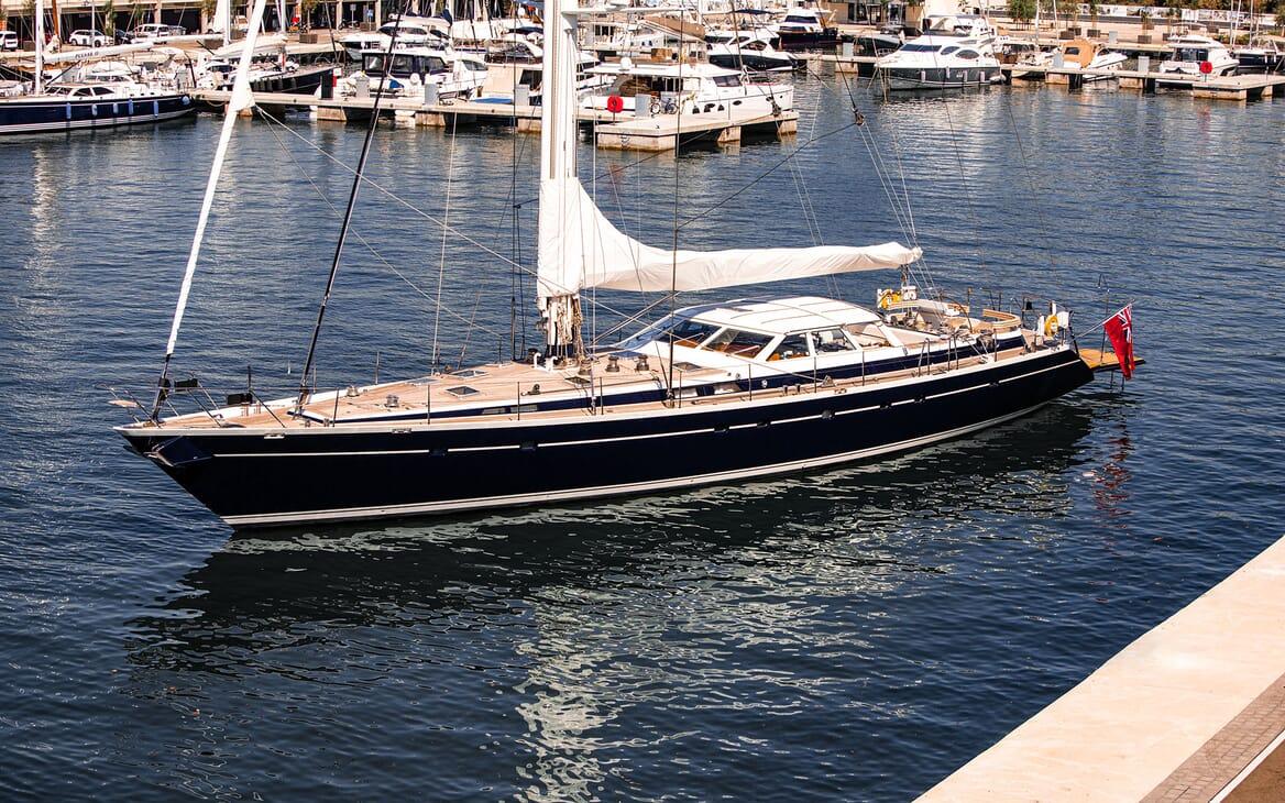 Sailing Yacht SCARENA Exterior