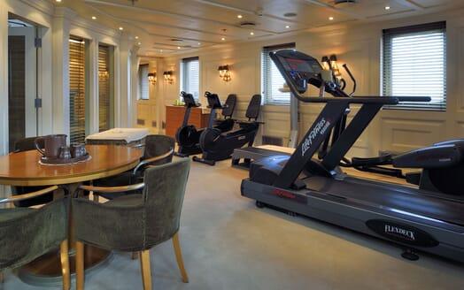 Motor Yacht CHRISTINA O Gym