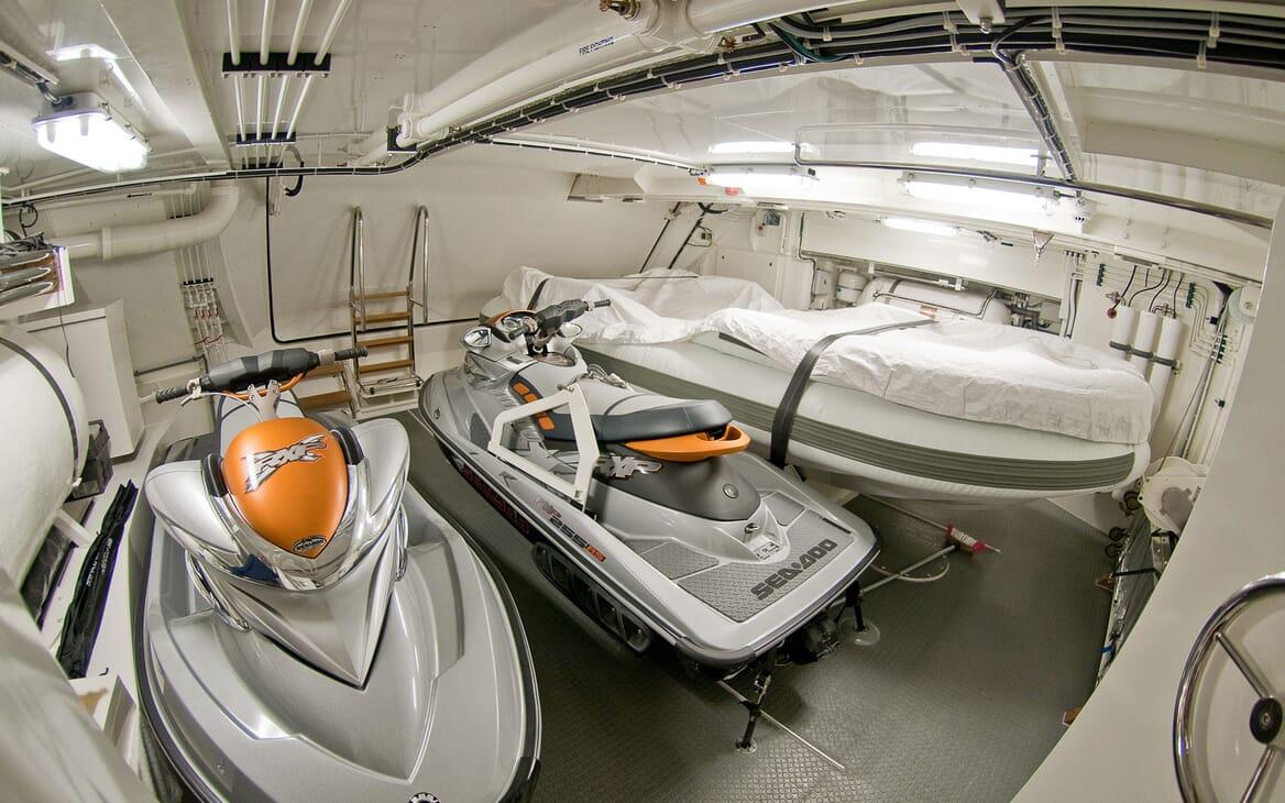 Motor Yacht Latitude toys