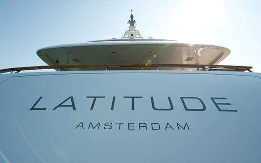 Motor Yacht Latitude aft