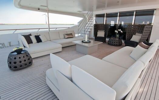 Motor Yacht Latitude main deck