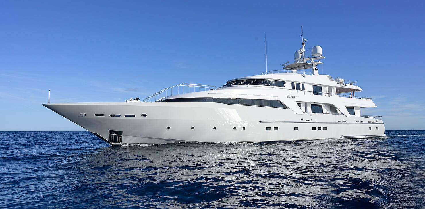 Motor Yacht DEEP BLUE II Profile