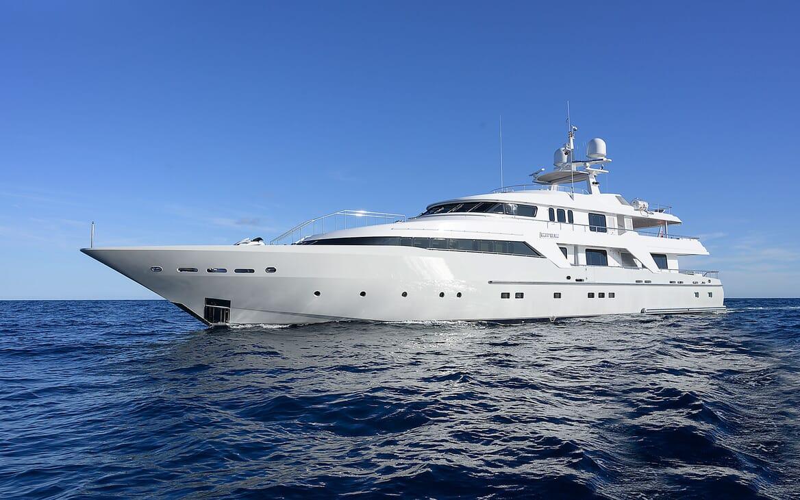 Motor Yacht DEEP BLUE II Profile