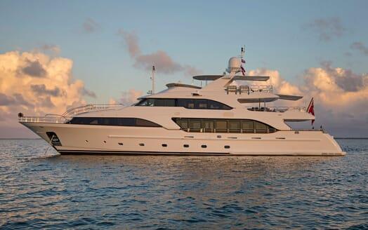 Motor Yacht BELIEVE Side on
