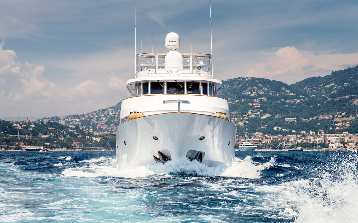 Motor Yacht Superfun cruising
