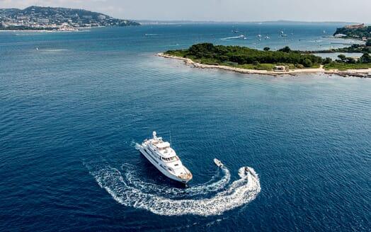 Motor Yacht Superfun aerial