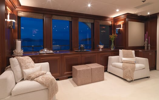 Motor Yacht My Little Violet interior design