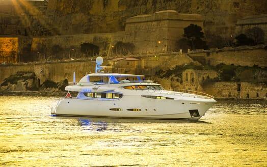 Motor Yacht Phoenix running shot