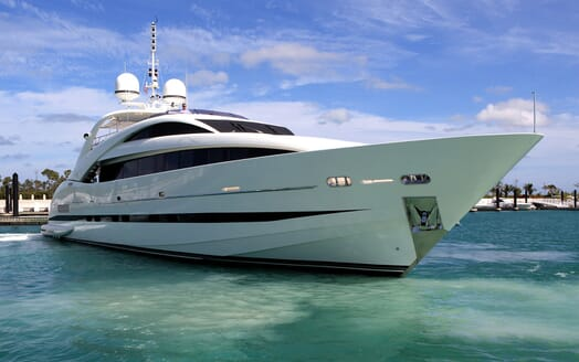 Motor Yacht Sealyon bow