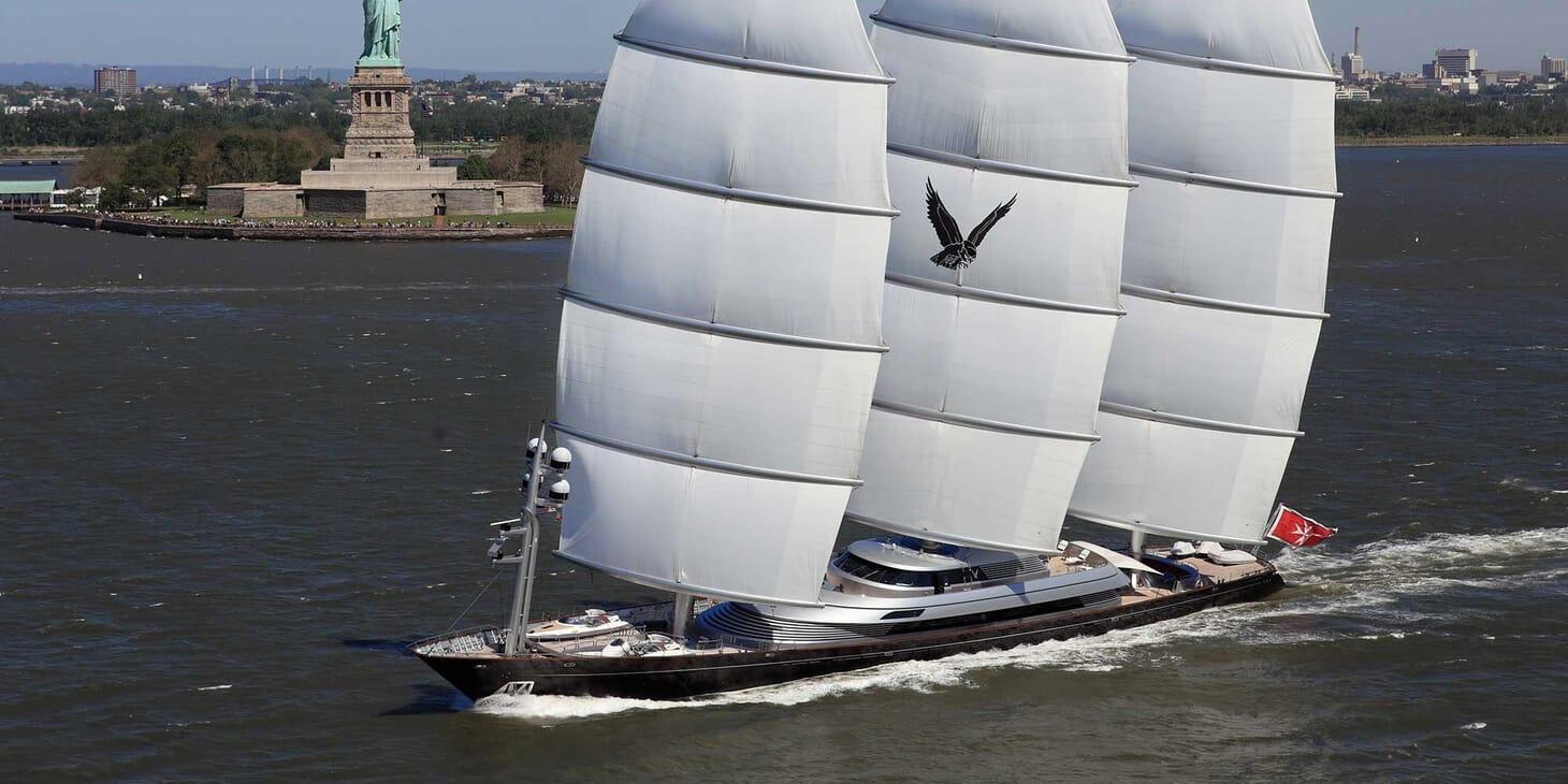 Sailing Yacht Maltese Falcon sailing