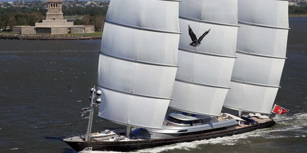 Sailing Yacht Maltese Falcon sailing