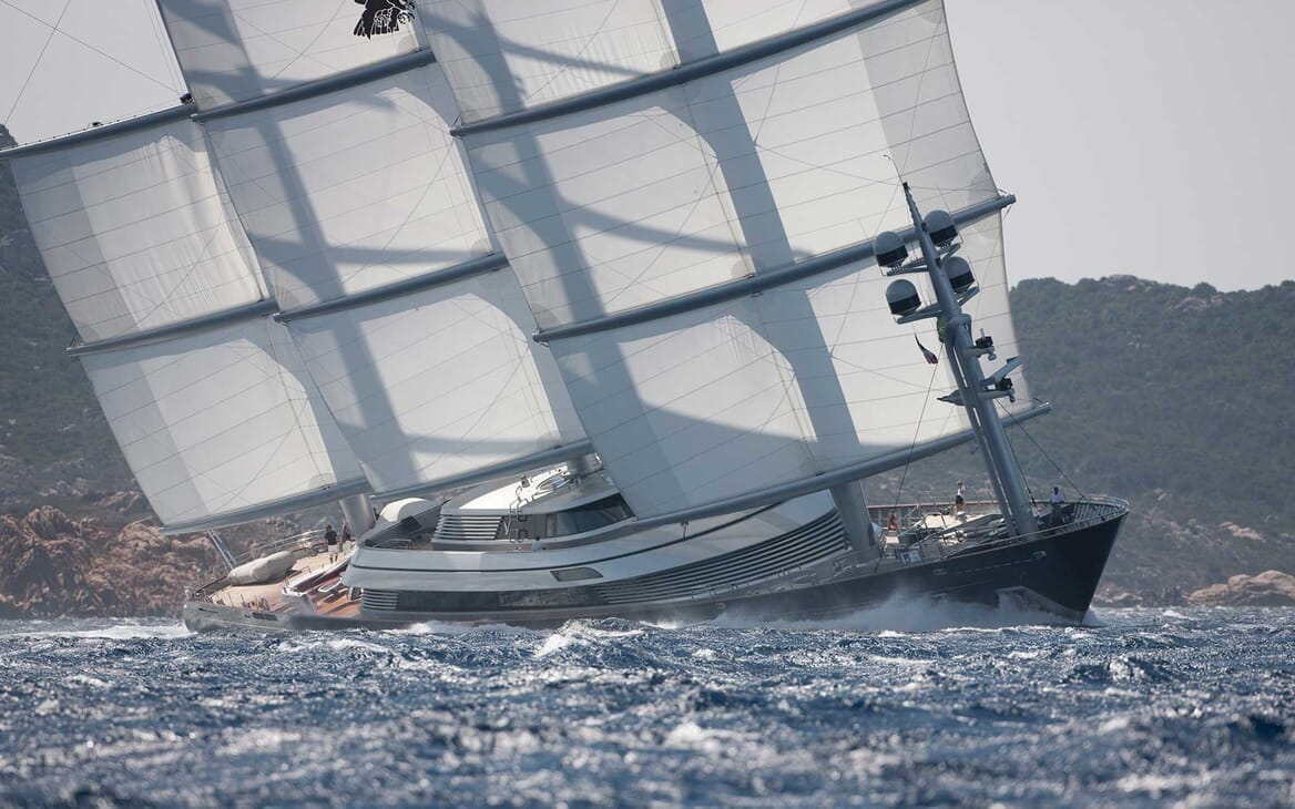 Sailing Yacht Maltese Falcon cruising