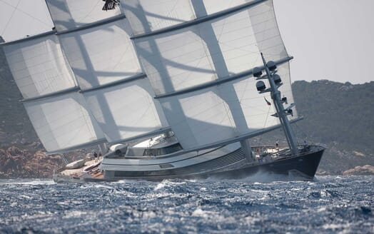 Sailing Yacht Maltese Falcon cruising
