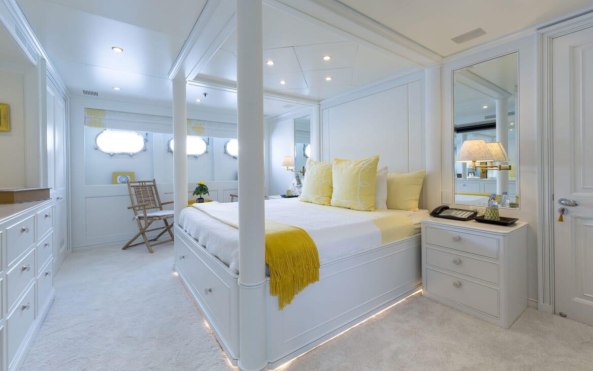 Motor Yacht BINA Master Stateroom
