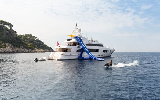 Motor Yacht BINA Extrior with Toys