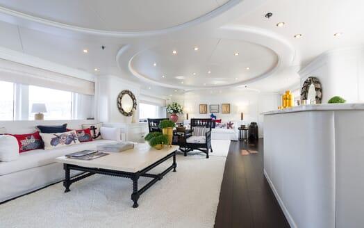 Motor Yacht BINA Main Saloon