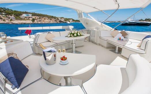 Motor Yacht WHITE FANG Sun Deck