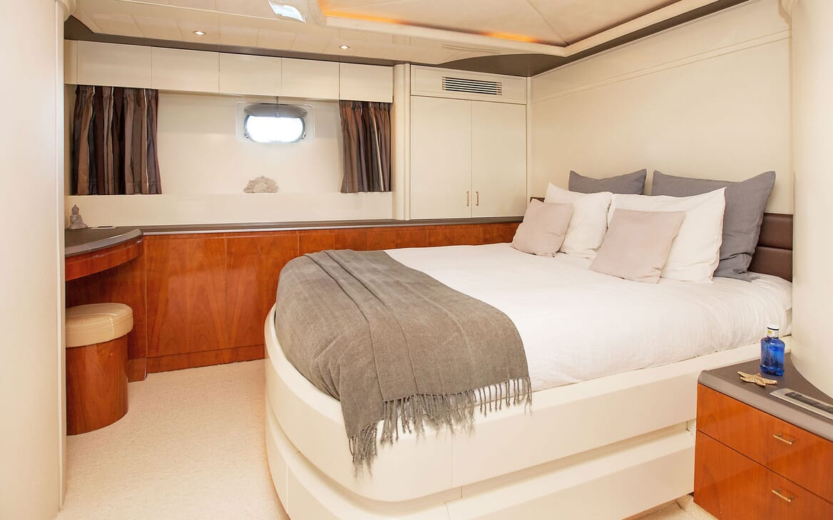 Motor Yacht WHITE FANG Double Stateroom
