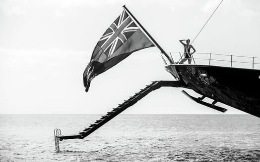 Motor Yacht NERO Aft Swim Platform