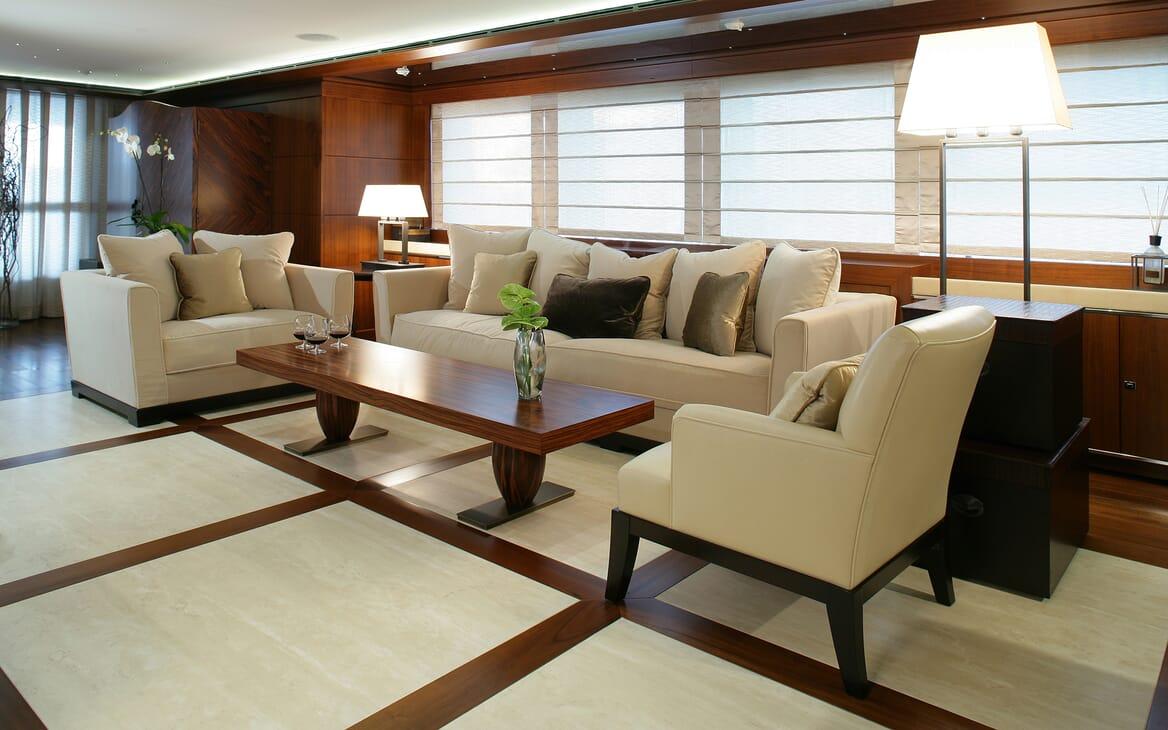 Motor Yacht Maraya interior design