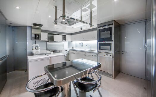 Motor Yacht Mac Brew Galley