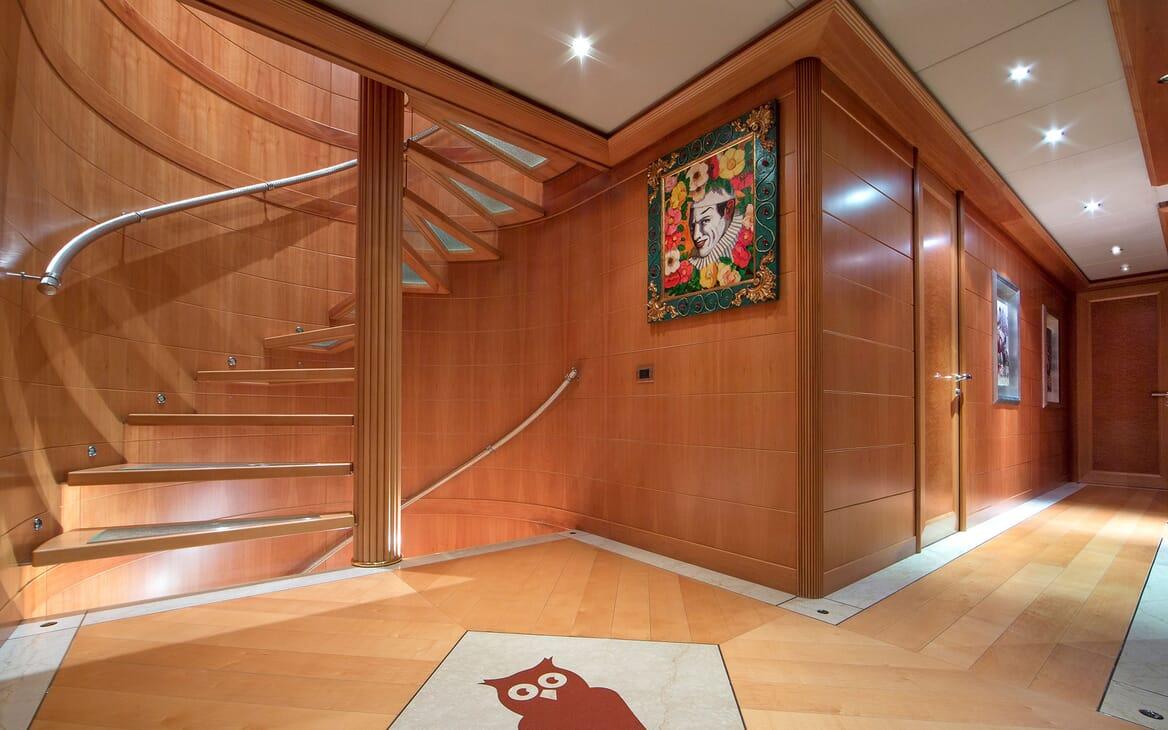Motor Yacht Mac Brew Hallway