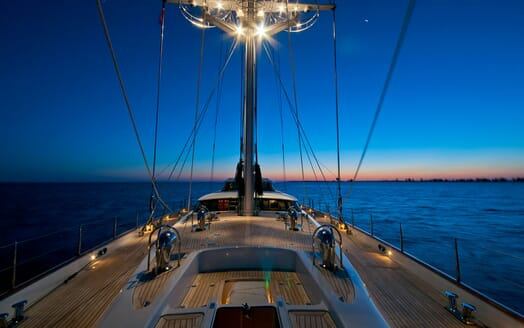 Sailing Yacht HYPERION Deck