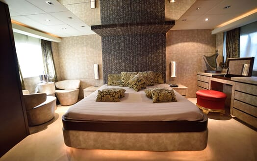 Motor Yacht ANDEA Master Stateroom