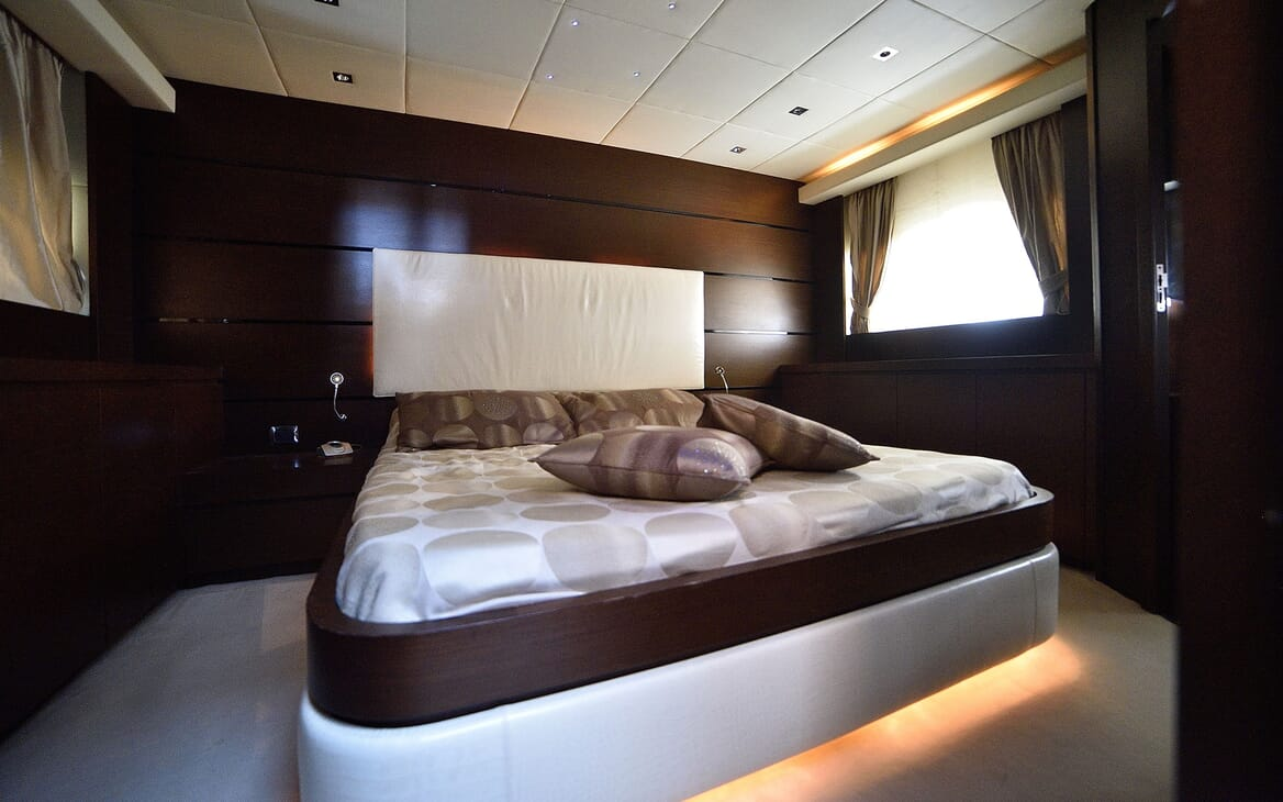 Motor Yacht ANDEA Guest Stateroom