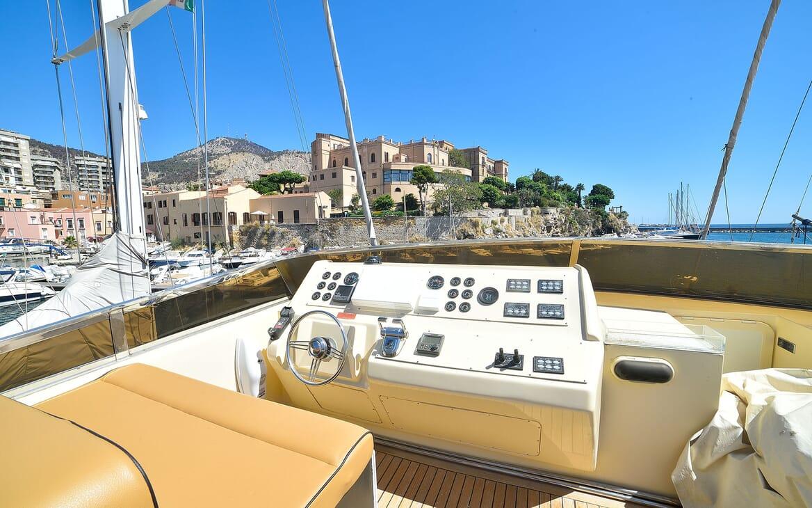 Motor Yacht ANDEA Aerial Shot