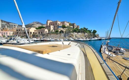 Motor Yacht ANDEA Aft Sundeck