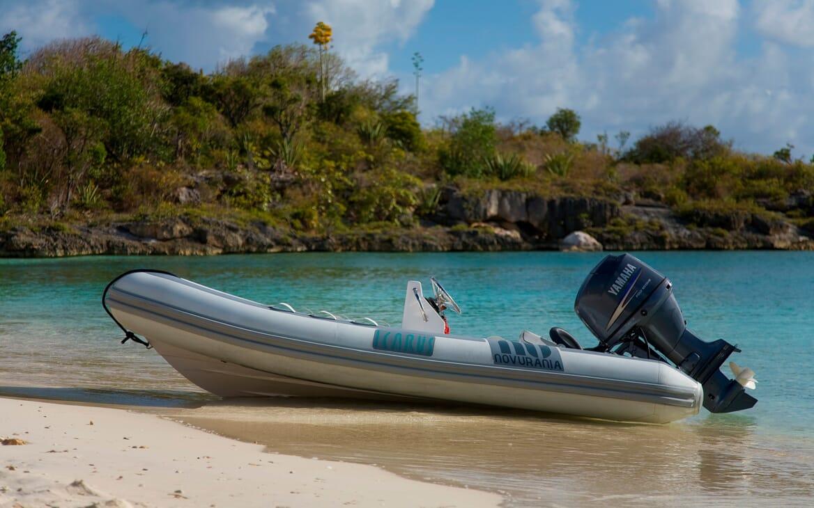 Sailing Yacht Icarus tender
