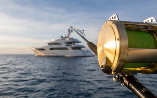 Motor Yacht Avalon Fishing Rod