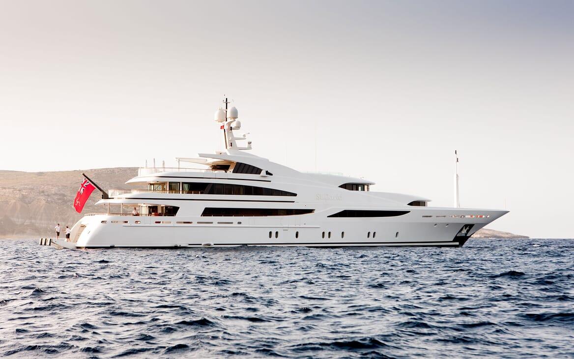 Motor Yacht ST DAVID Hero Profile