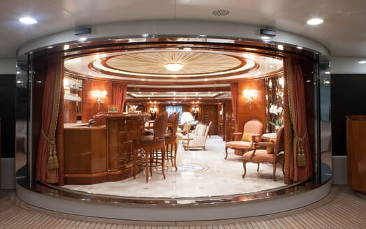 Motor Yacht ST DAVID Main Deck to Aft