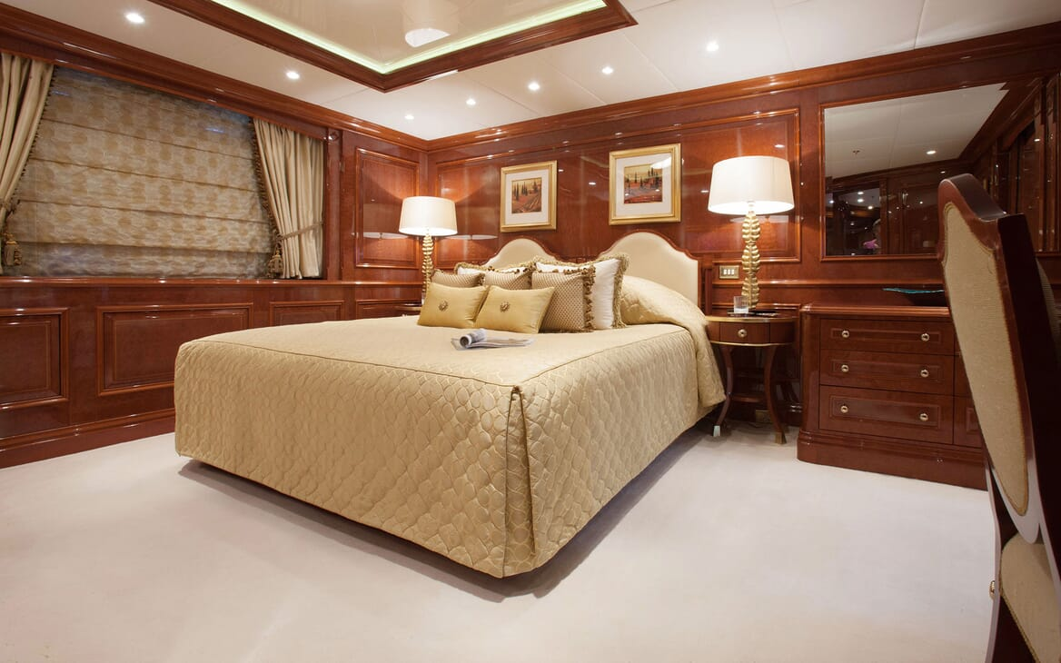 Motor Yacht ST DAVID Double Guest Stateroom