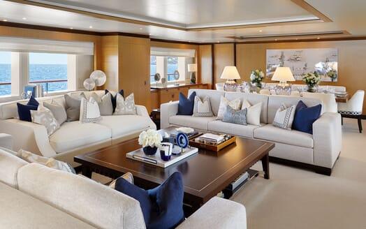 Motor Yacht ANDREAS L Main Saloon