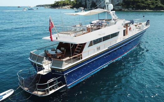 Motor Yacht CHANTELLA Profile