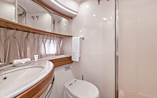 Motor Yacht Wini bathroom