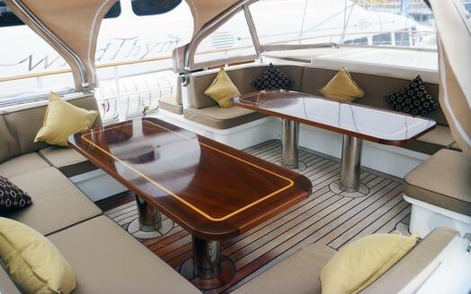 Sailing Yacht Sunny Hill cockpit