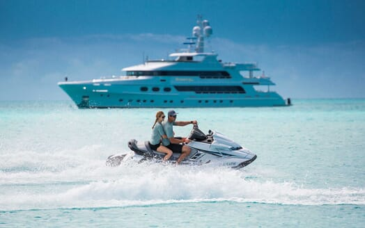 Motor Yacht Remember When jetski