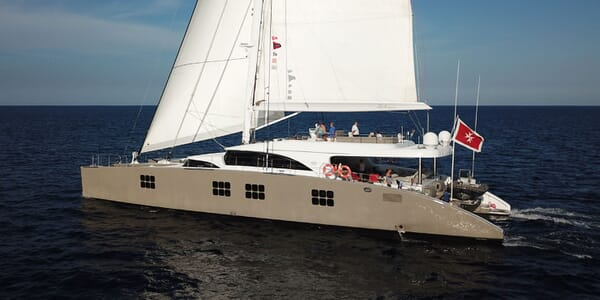 Sailing Yacht IPHARRA Underway