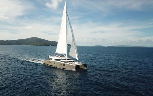 Sailing Yacht IPHARRA Underway 2