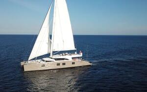 Sailing Yacht IPHARRA Underway 3