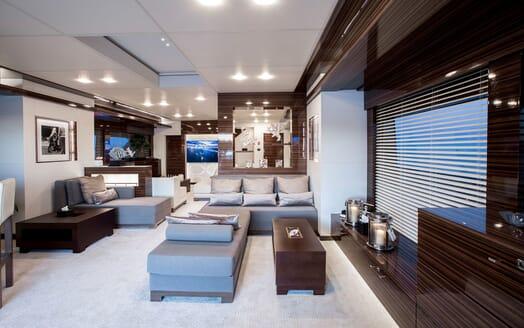 Motor Yacht TATII Main Saloon