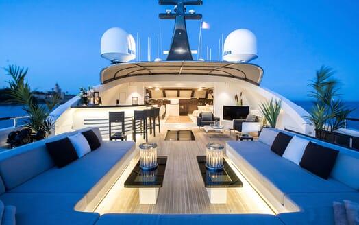 Motor Yacht TATII Sun Deck