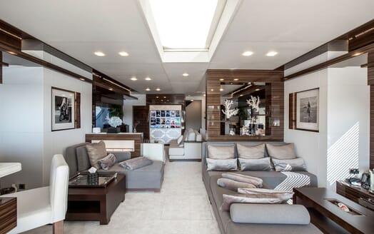 Motor Yacht TATII Main Saloon 2