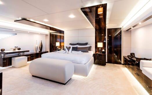 Motor Yacht TATII Master Stateroom